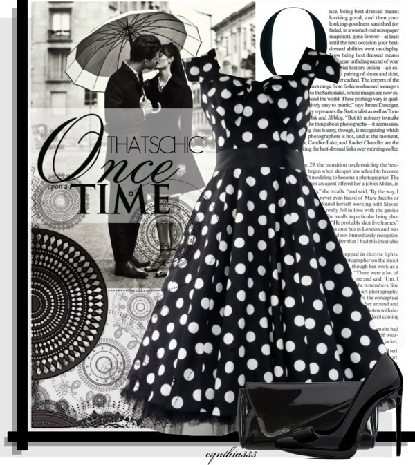 """Black is the New Black Contest"" by cynthia335 ❤ liked on Polyvore"