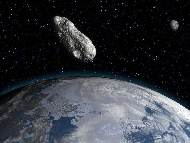 """(Artikel) Riesiger Asteroid """"Florence"""" fliegt am 1. September an der Erde vorbei."""