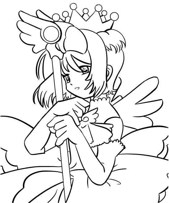 coloring pages cardcaptors - photo#41