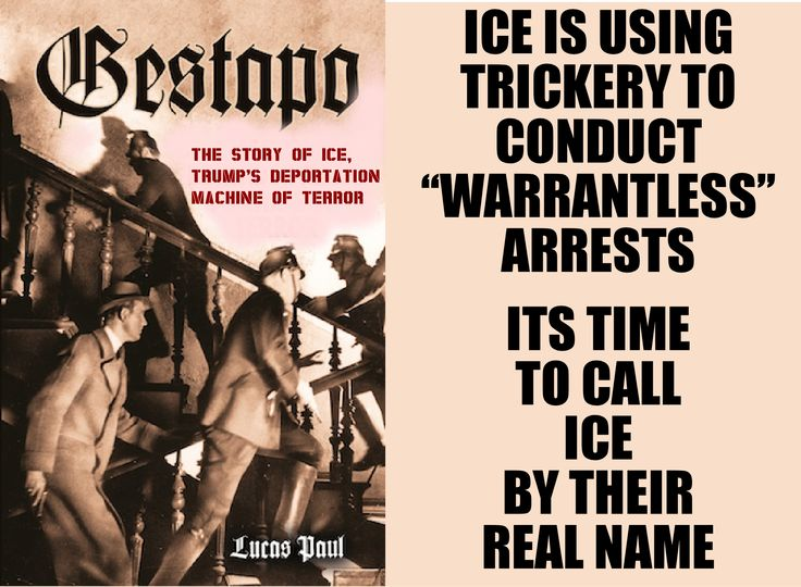 Image result for ICE Gestapo