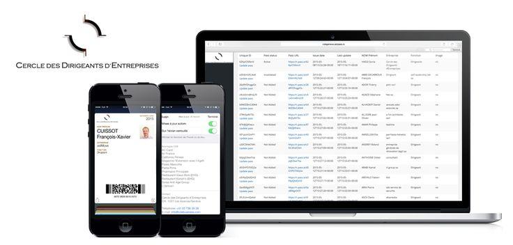 www.asimove.com | CDE Genève:  Cartes de membres digitales pour le Club des Dirigeants d'Entreprises genevois. Ces cartes permettent, entre autres, aux membres de recevoir des notifications géo-localisées pour bénéficier d'avantages chez les partenaires du CDE à proximité de leur position.