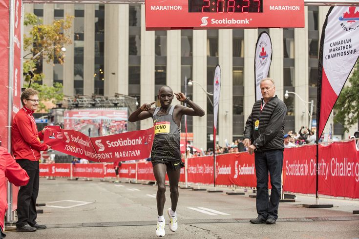 Competitive Races at the Scotiabank Toronto Waterfront Marathon