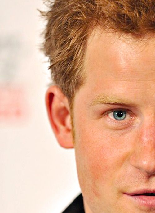 Prince Harry's look....very handsome, looks like his mother's brother, and has his mother's blue eyes and her wonderful full love of life,  people and his own sense of humor and love  of animals.  That is my take on the Lad.