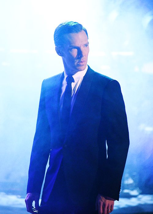 "benedictdaily: "" First still of Benedict Cumberbatch on Saturday Night Live! [UHQ] """