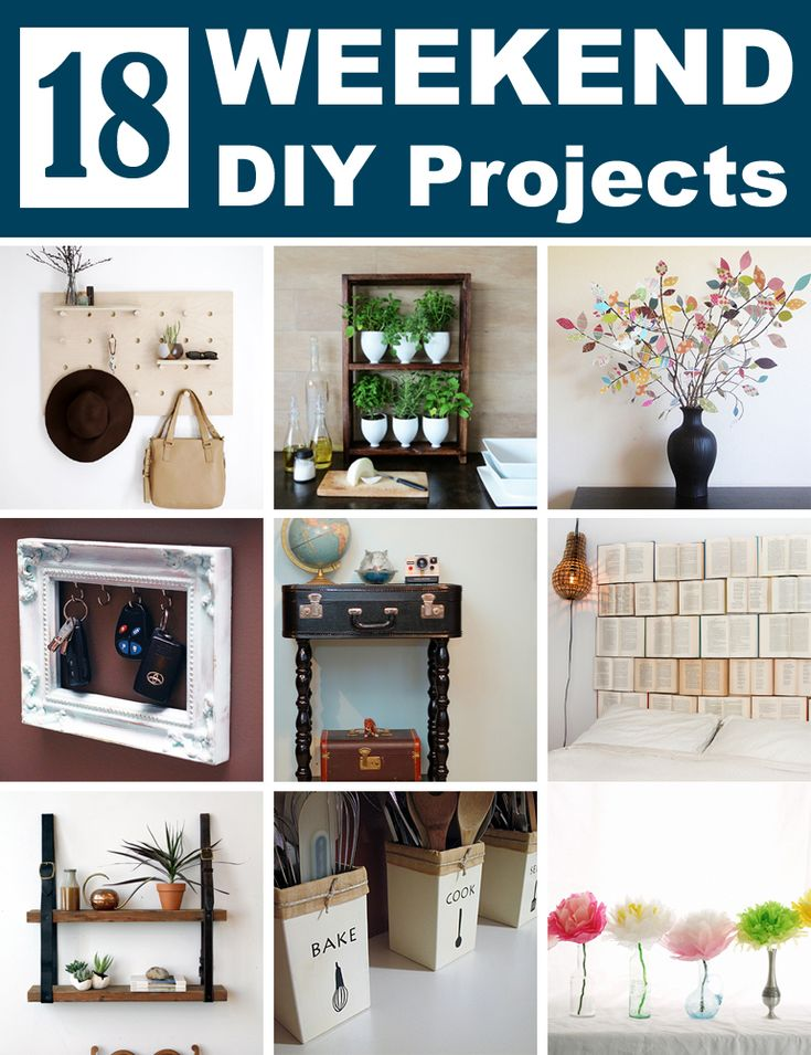 Best Creative DIY Projects Ideas Images On Pinterest - Best weekend diy projects ideas