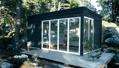 Love this!  Kenjo: Cabin Like Prefab Guest House or Studio Photo