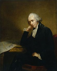James Watt, FRS, FRSE (19 January 1736 – 25 August 1819)[1] was a Scottish inventor and mechanical engineer whose improvements to the Newcomen steam engine were fundamental to the changes brought by the Industrial Revolution in both his native Great Britain and the rest of the world.