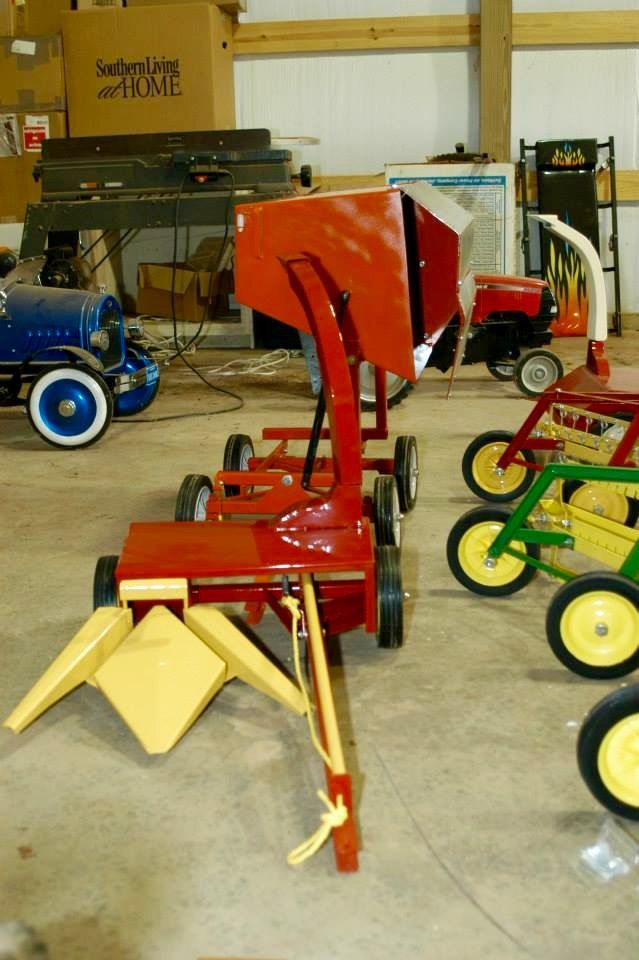 Jd Handmade Creations: 432 Best Images About Pedal Tractors On Pinterest