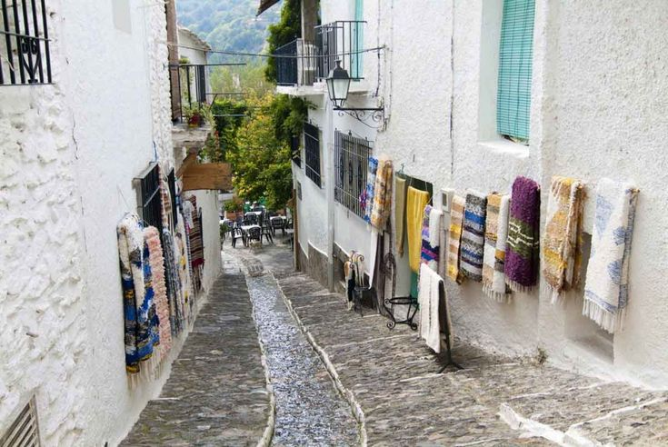 Pueblo de Pampaneira, Granada.