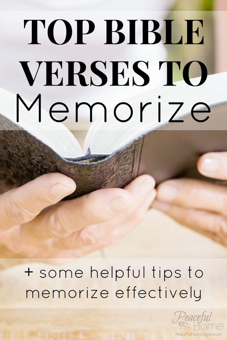Top Bible Verses to Memorize | Memory Scriptures | Tips for memorizing scriptures | Write the bible on the tablet of your heart | Popular bible verses | Favorite Scriptures | Why I memorize scripture