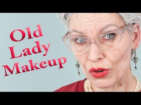 OLD LADY MAKEUP | Aging Special Effects - Efectos especiales de envejecimiento - YouTube
