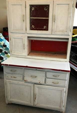 hoosier cabinet metal drawer 1