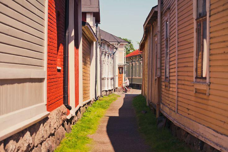 Vanha Rauma on haluttu asuinalue.