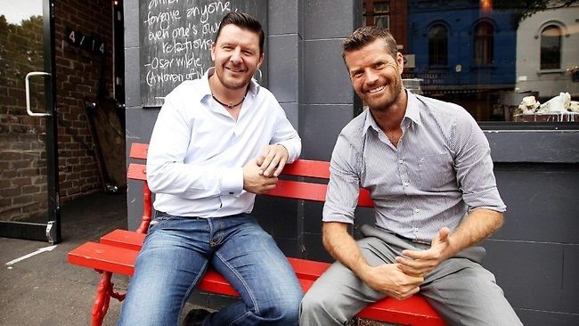 Pete Evans and Manu Feildel ...... MKR <3