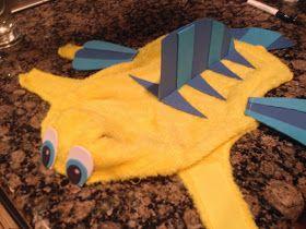 Little Mermaid Flounder Dog Costume