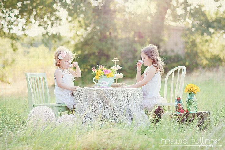 I have to do this before my oldest gets too old for a little girls tea party!