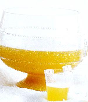 Ginger Pineapple Sparkling Punch