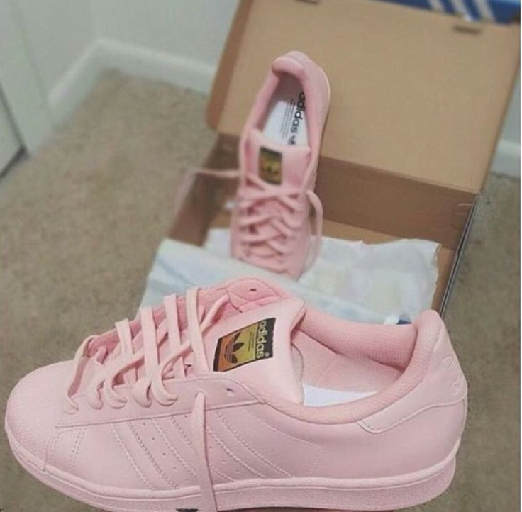rose pink adidas shoes pink adidas superstar bedazzled boutique