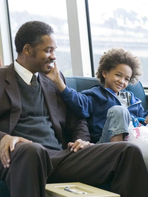 Will and Jaden Smith in Pursuit of Happyness