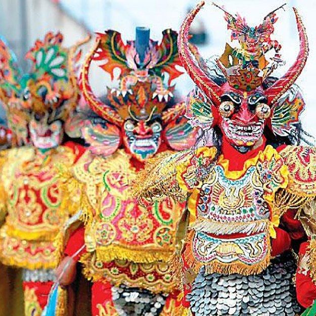 La Diablada- Bolivia, Chile, Peru | 10 Bizarre Cultural Events Around The World You've Probably Never Heard Of