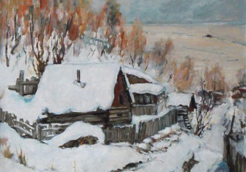 Байкал. Моя дача зимой.