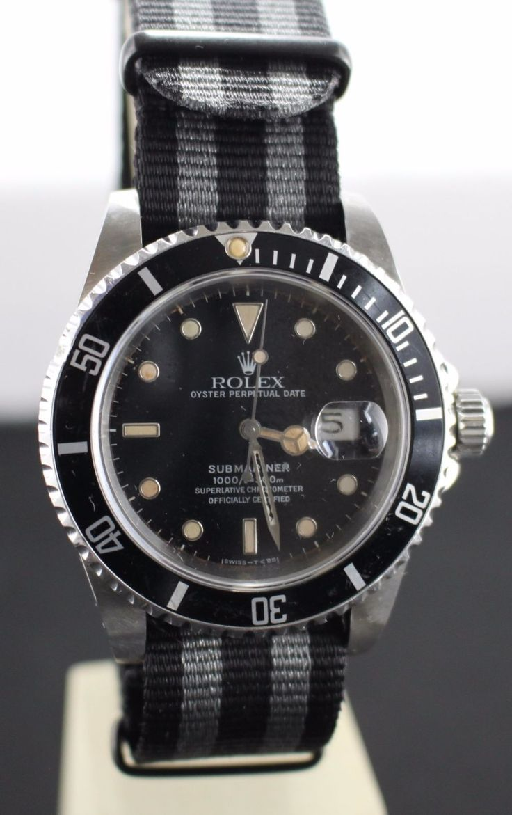 #Forsale #Rolex 16610 Submariner Tritium Dial Sapphire Crystal Custom Case 3135 Movement #Auction @$2,800.00
