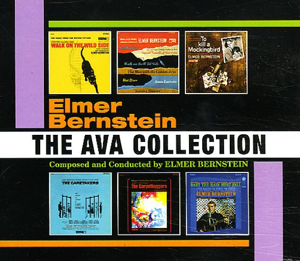 Elmer Bernstein: Ava Collection (Walk On The Wild Side/Carpetbaggers/Caretakers/Baby The Rain Must Fall/To Kill A Mockingbird/Movie & TV Themes)