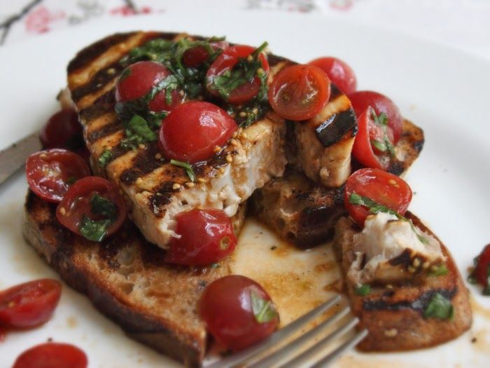 This grilled swordfish bruschetta recipe is the type of thing I rarely think to film. Recipes that are so simple I assume there won't be any...