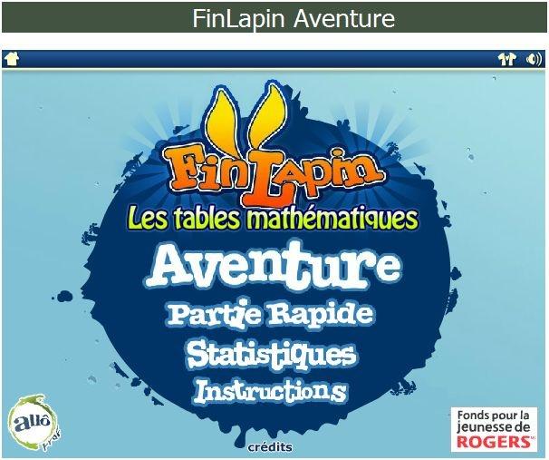 Fin lapin jeu pour apprendre les tables de for Apprendre facilement les tables de multiplications