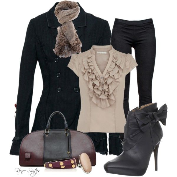 Cute Office Outfits for Winter | Winter Fashion Outfits 2012 | Love