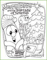 Coloring Pages! If your family is going to be participating in Operation Christmas Child this year (or would like to!) Now they have made it more fun for your littles with VEGGIE TALES! (Our family did this last year anfd loved it so much we have decided it would be a yearly tradition.)  /// Pack a Shoebox with VeggieTales