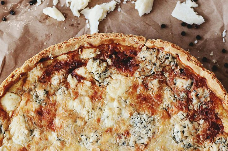 Bacon & Blue Cheese Tart