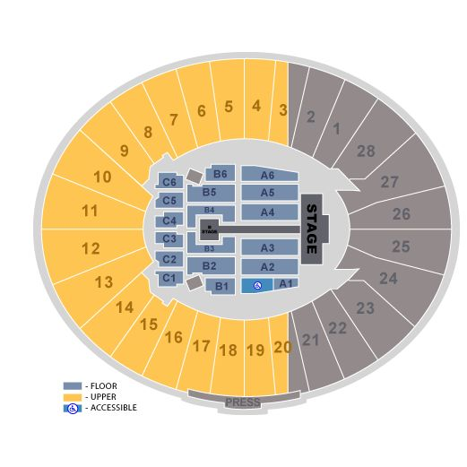 rose bowl concert seating map for one direction 2014 | Rose Bowl Information