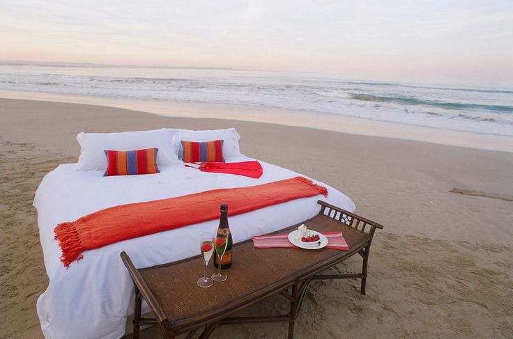 Dreamy beach location in South Africa