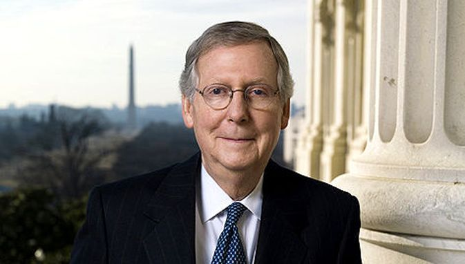 """Mitch McConnell On Obama: """"Give The Man A Break, Sexual Abstinence Can Be Very Stressful"""""""