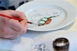 Porselein beschilderen | Tips & adressen voor kinderfeestjes | Kidsproof 't Gooi