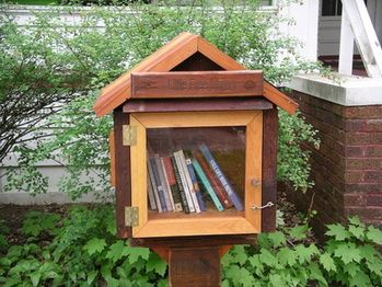 Read about Little Free Libraries - www.littlefreelibrary.org/
