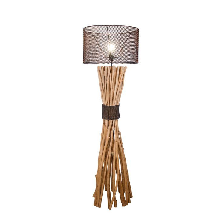Unique Stehleuchte aus Treibholz Metall Geflelcht Jetzt bestellen unter https moebel ladendirekt de lampen stehlampen standleuchten uid uddecec d c
