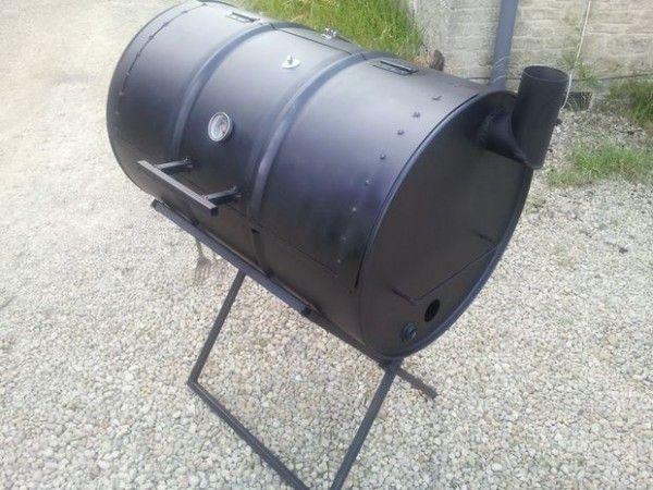 Oil Drum Smoker