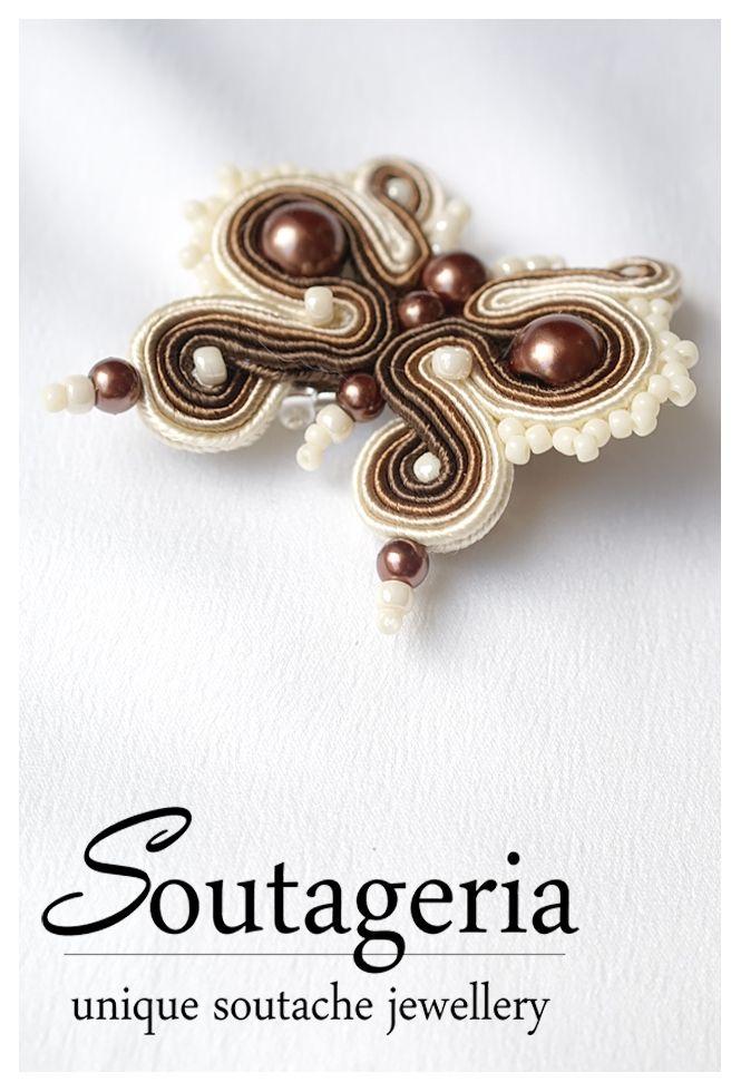 Broche Mariposa - Soutageria - Imperdible de Plata: