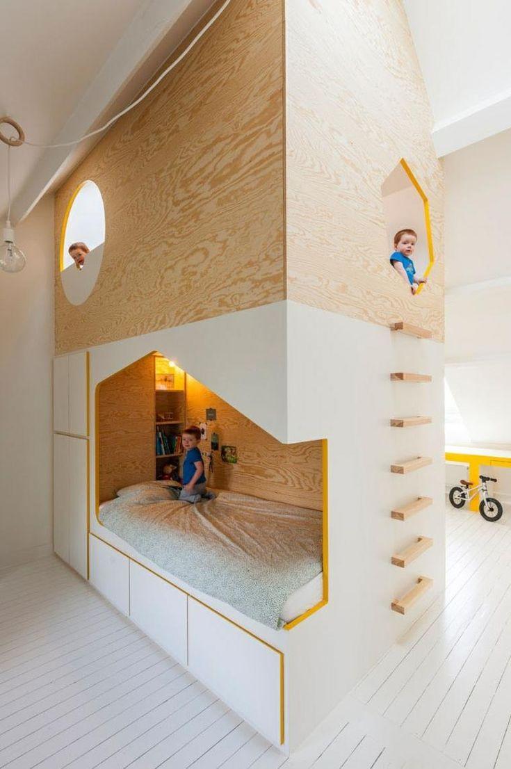 Kinderzimmer – funktionelle Idee von Van Staeyen Interior Architects