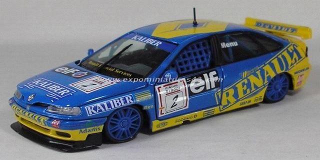 BTCC 1995 Renault Laguna Alain Menu 1/43
