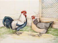 Tile panels, painted tiles and Dutch whites Albarello – Atelier KK Na …  – Miniatures