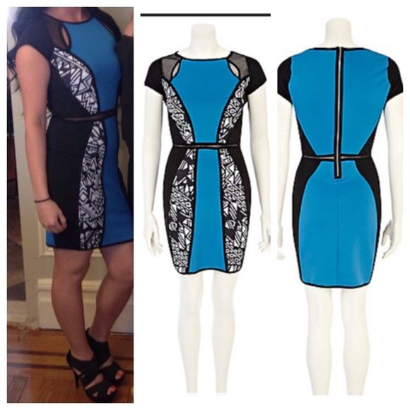 River Island bodycon dress this dress is very flattering and has been worn once! River Island Dresses