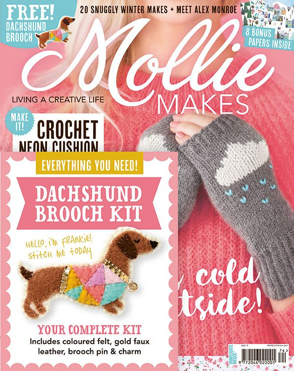 Find 20 snuggly winter makes including a pair of cloud wrist warmers ...