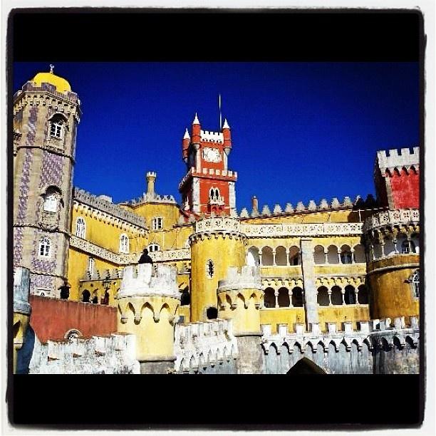 Castello Sintra - Portogallo