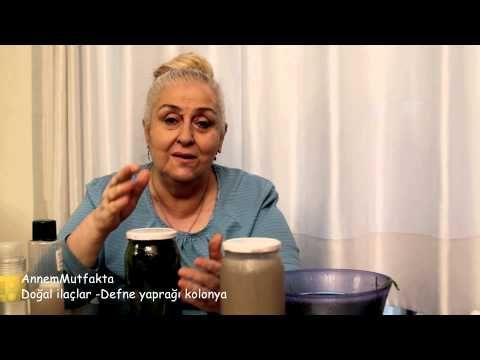 Eklem romatizma- bel- boyun ağrılarına iyi gelen defne kolonya karışımı - YouTube