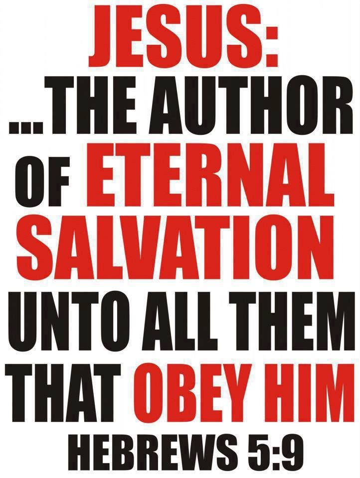 Hebrews 5:9 In this way, God qualified him as a perfect ...