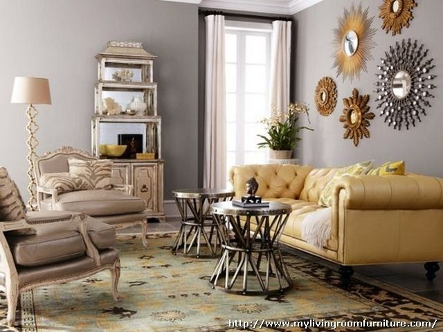 Accent Mirrors Living Room