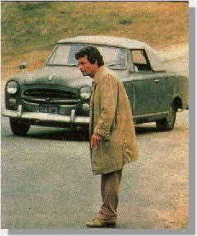 Colombo's Peugeot